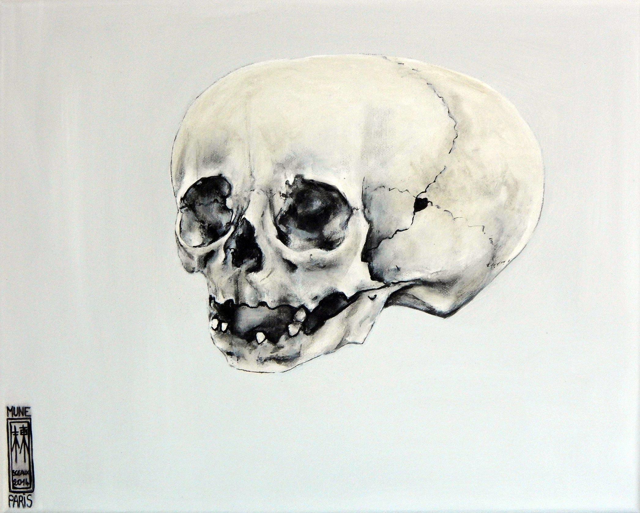 Peinture D 39 Une Vanit T Te De Mort De Foetus