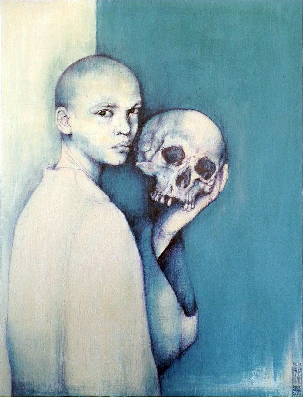 Hamlet par l'Artiste peintre Mune
